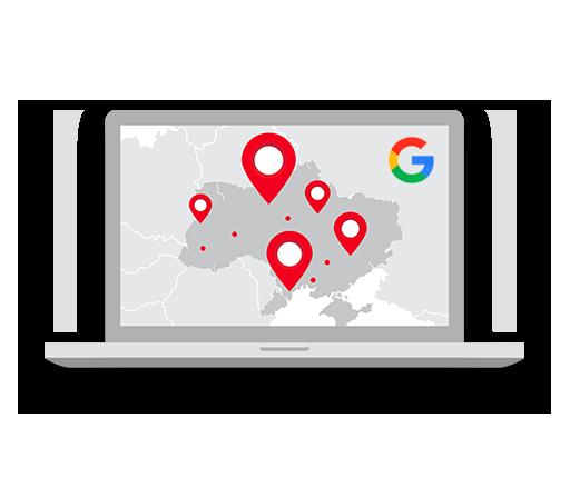 google maps pagina